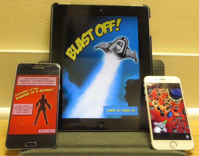 Sample Screens on Samsung Galaxy Note 5, iPad & iPhone 6