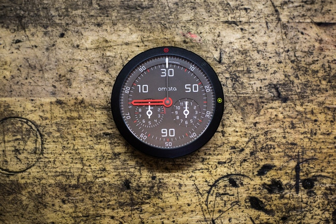 OMATA One: Analog GPS Speedometer by OMATA — Kickstarter