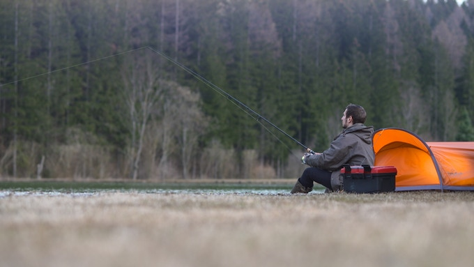 ideal for fishing - set up fast and go