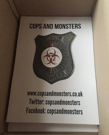 The Original Cops and Monsters Poster