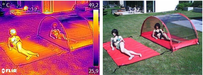 You feel the cooling healthy shade immediate