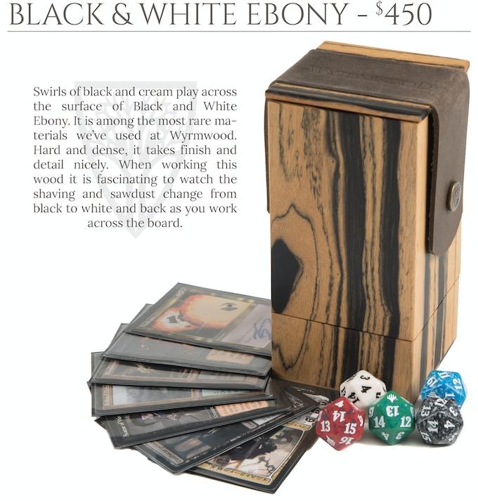 Black & White Ebony