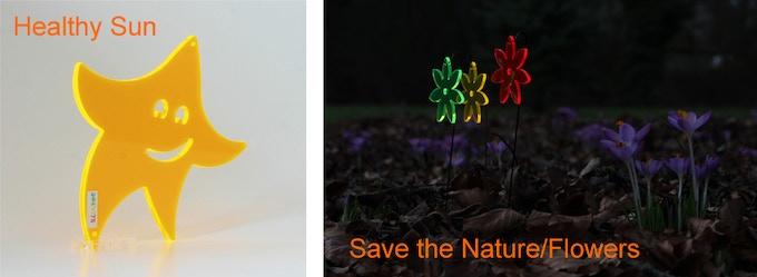 Unique shining pledges designed by Thorsten