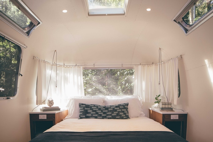 AutoCamp is just like a beautiful, design-forward boutique hotel – no sleeping bag required!