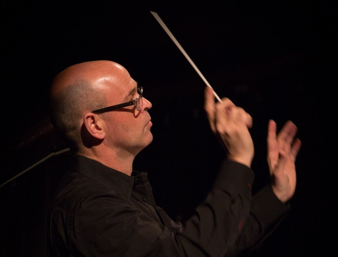Conductor and artistic director Gil Rose. Photo credit: Kathy Wittman