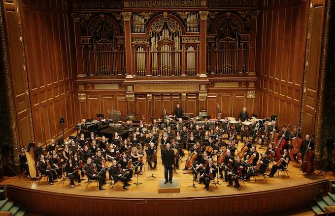 The Boston Modern Orchestra Project. Photo credit: Kathy Wittman