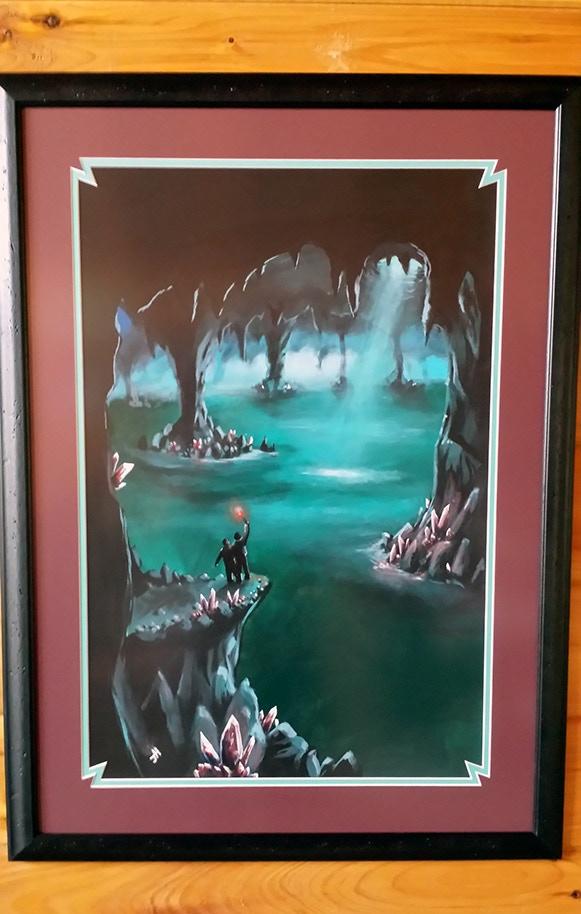 Wayward Spirits Signed Cover Painting