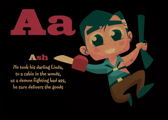A is for Ash