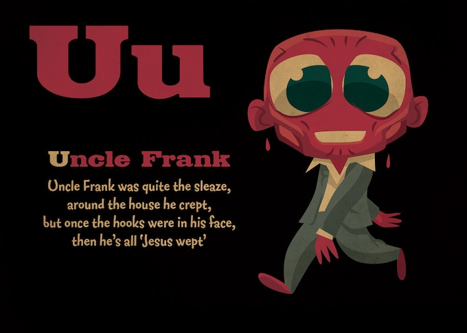 U is for Uncle Frank