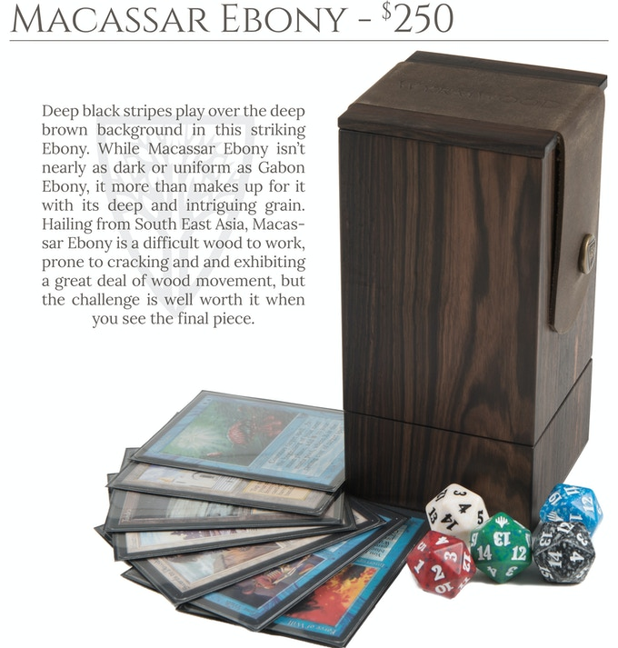 Macassar Ebony