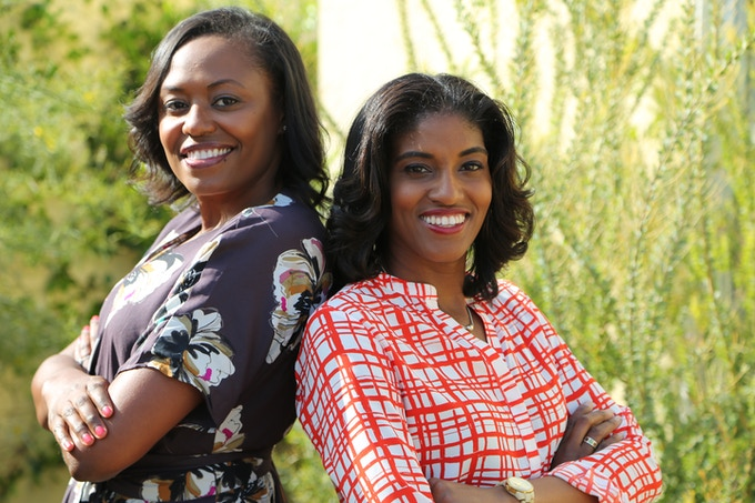 DreamKeepers Box Founders Eleisha Nelson (left) and Deena Williams (right)