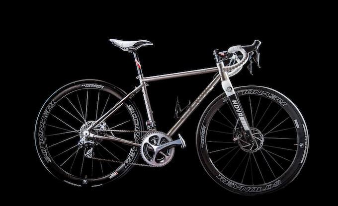 NDVR The world's finest titanium travel bike