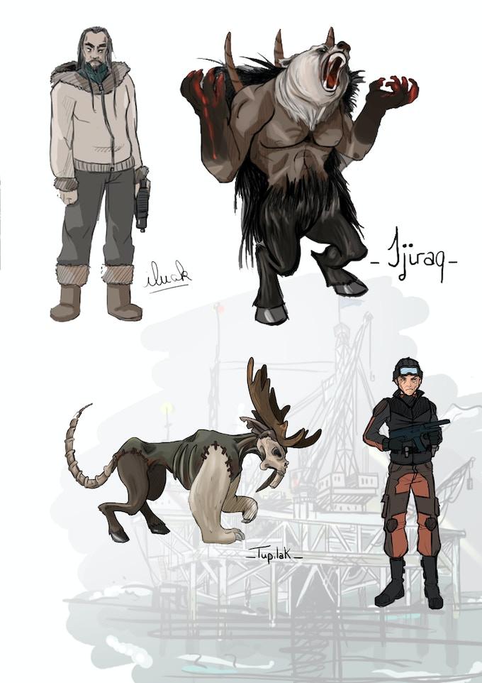 Iluak + Hostile NPC concept