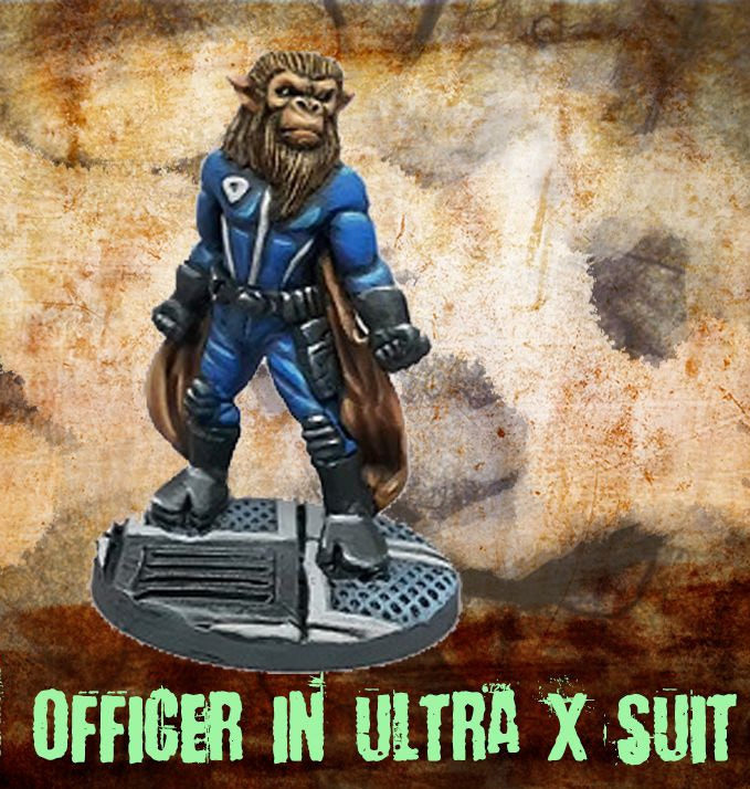 Officer in Ultra X suit