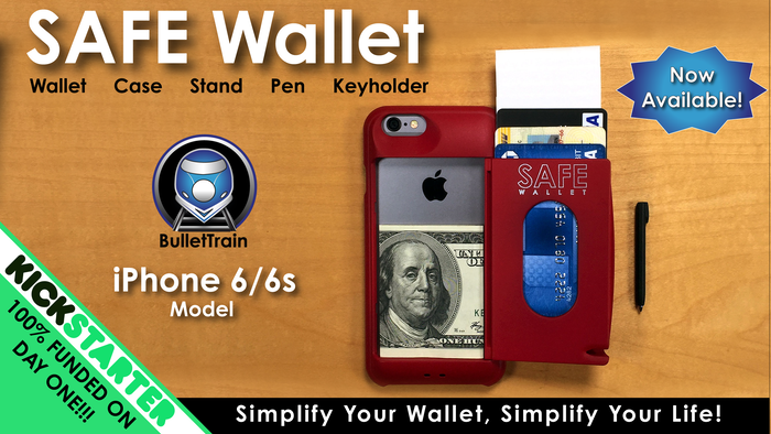 reputable site b185d b3247 SAFE Wallet Case for iPhone 6—Simplify Your Everyday Carry! by ...