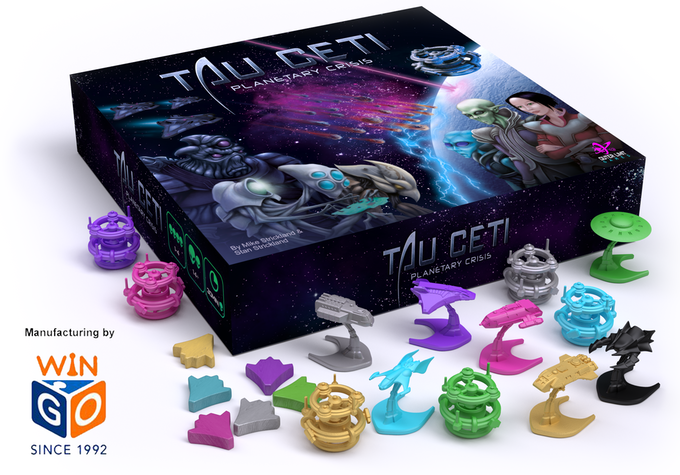 TAU CETI: Planetary Crisis will be manufactured by WinGo Games