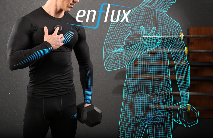 Improve form, more power, and better results! Enflux analyzes your entire body in real-time. App provides 3D image and digital coach.