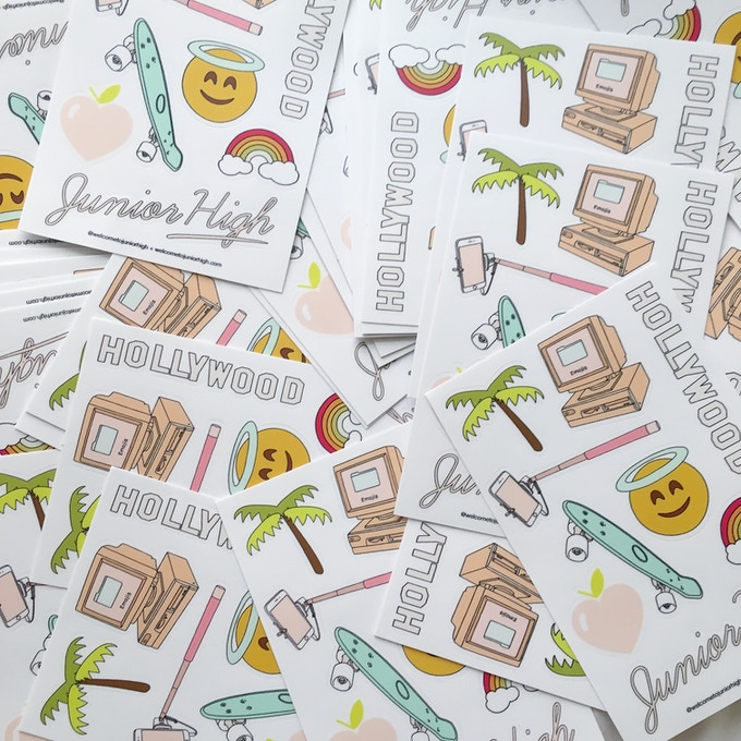 sticker sheets for donors