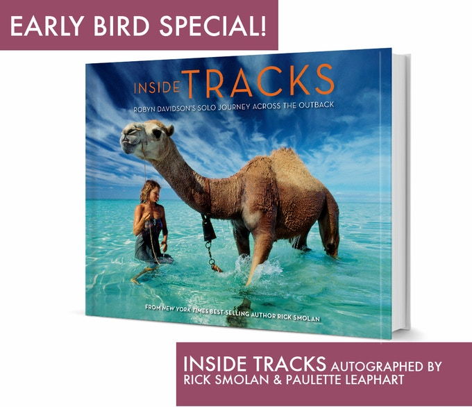 Robyn Davidson's trek is a well know National Geographic Cover Story.