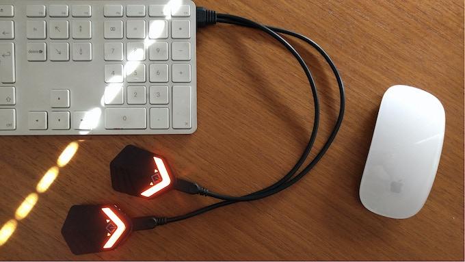 charging together is safer, you don't get left short :)