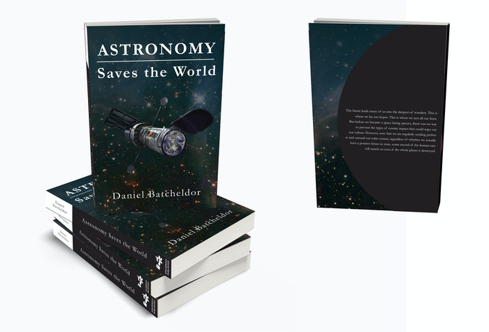 A book to show that astronomy can save the world through a shared interest & engaging learning experience; emancipation via education.