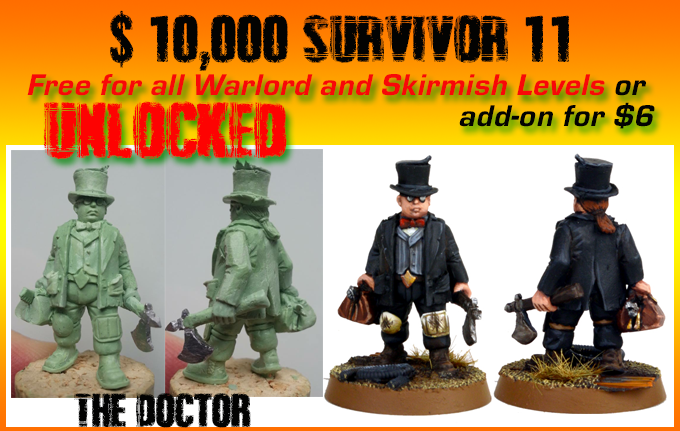 "Stretch Goal - ""The Doctor"""
