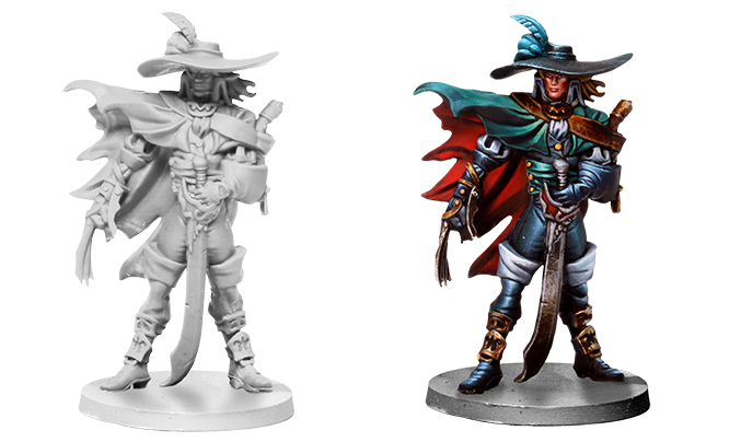 Ironclaw, the most ruthless and power-hungry Captain in Marea de la Muerte!