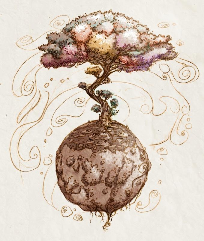 Khroma World Tree by Gius