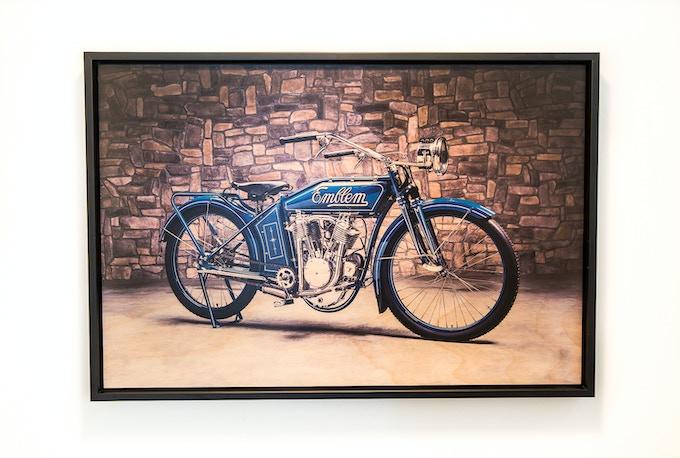 "16""x24"" Wood print with custom frame"