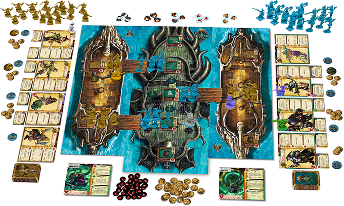 Take part in the deadly boarding action, as the Deep Lords and Marea de la Muerta battle to claim Davy Jones' treasure!