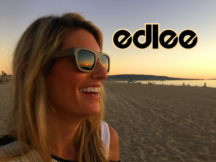 edlee Design Sunglasses are the premier sunglasses designed for comfort and style to SHOW THE WORLD the easy living of beach culture