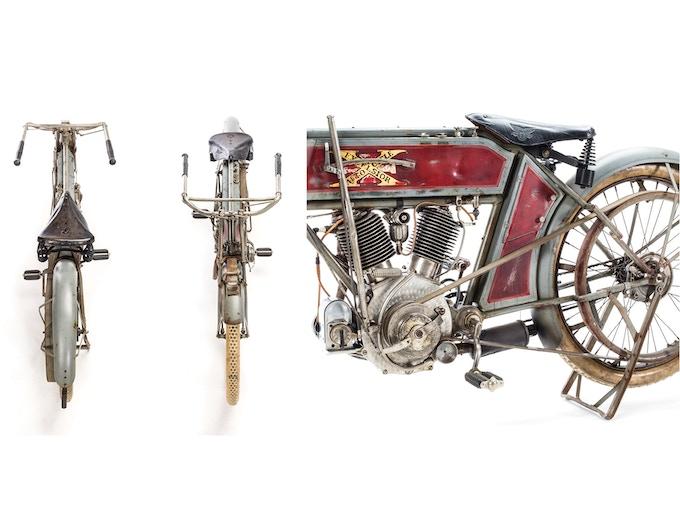 1911 Excelsior V-Twin Details