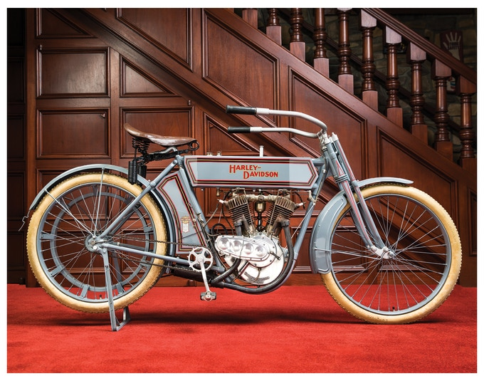 Custom print option #2 - 1911 Harley-Davidson V-Twin