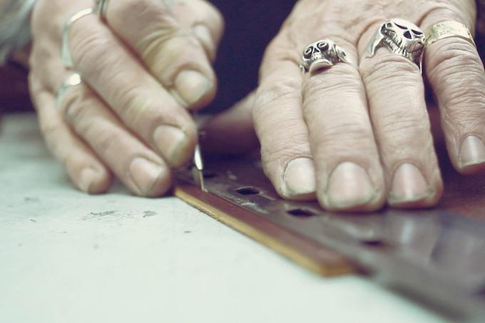 Cutting Leather