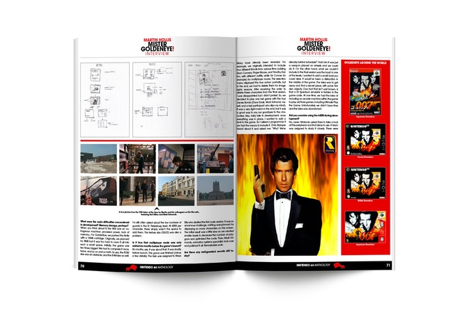 Double page example (Interviews)