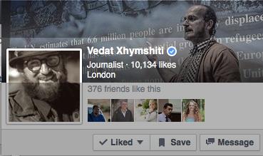 Vedat Xhymshiti - Journalist