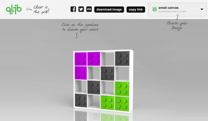 Use our design generator to play around with colors & setups!