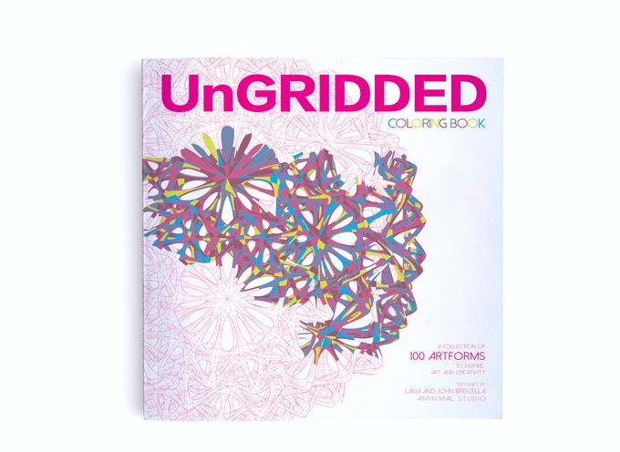 "UnGRIDDED Coloringbook (8.5"" x 8.5"")"