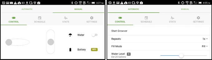 Control Growver from your mobile device