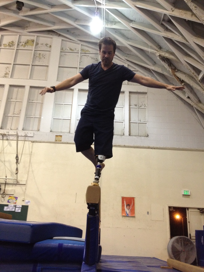 Freeman (Kurt Yaeger) training for Overture