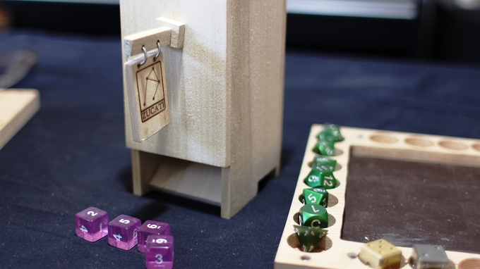 Free play THE TOWER or snap it onto your Dice Base 2. Either way works!