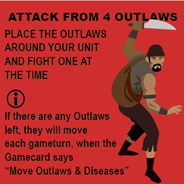 Oops, you entered an outlaw camp. And you're not welcome.
