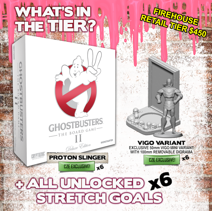 Shared Board Cause To Pause: Ghostbusters: The Board Game II By Cryptozoic