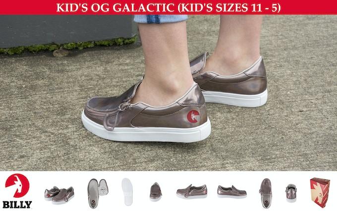 KID'S SHOE (PU MATERIAL) — OG (Original Goat) GALACTIC — KID'S SIZES 11-5