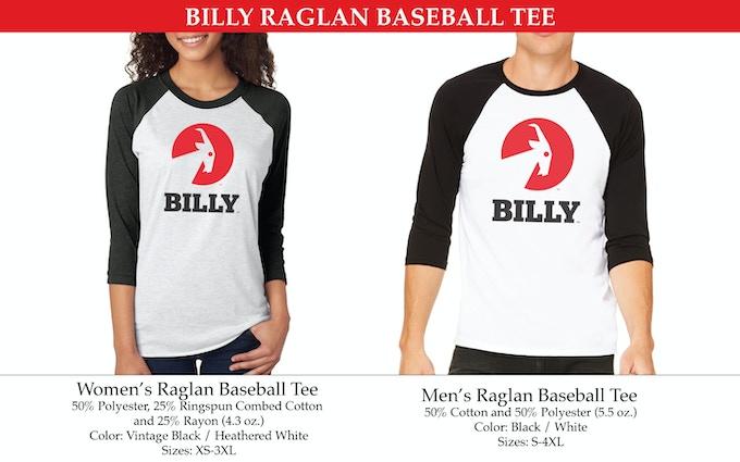 MEN'S & WOMEN'S RAGLAN BASEBALL TEES