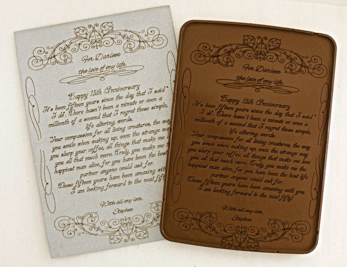 """Want to write a Love Letter? (6"""" x 8"""") Up to 580 characters (approx.)"""