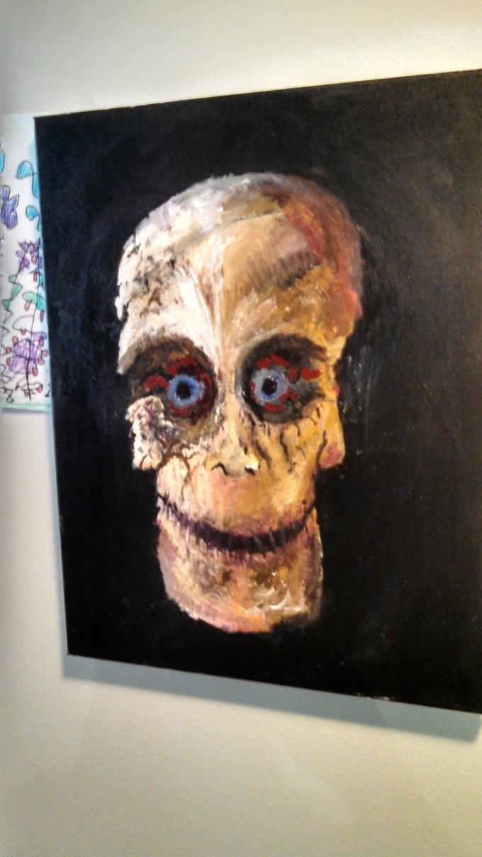 Original Michale Graves Monster Artwork