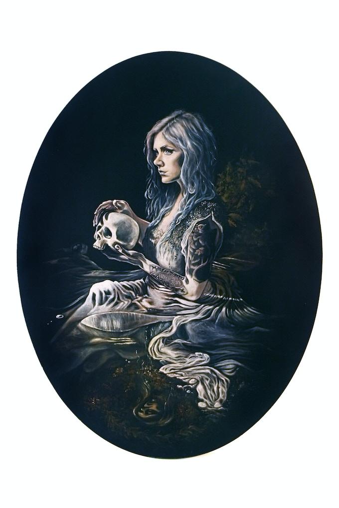 """""""Siren II""""- Recent work by AJ Hawkins Art"""