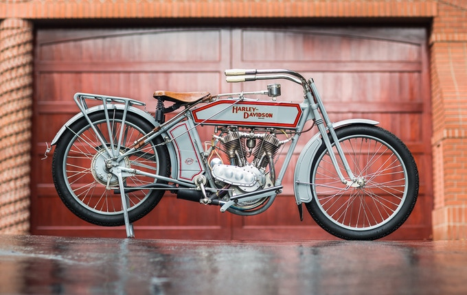 Print option #5 - 1914 Harley-Davidson V-Twin Two Speed