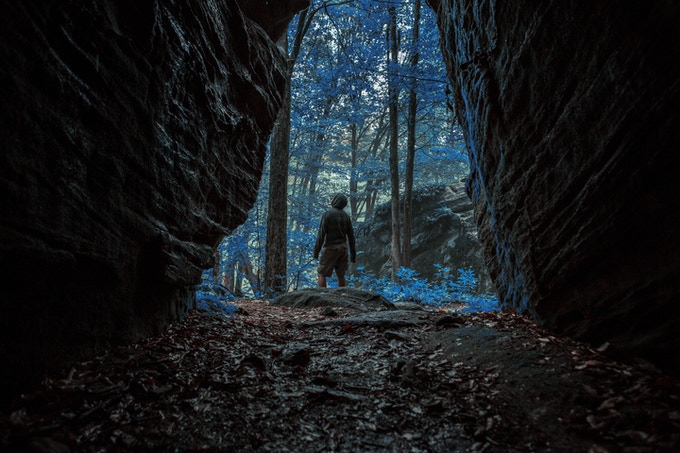 Passageway to the Blue Forest